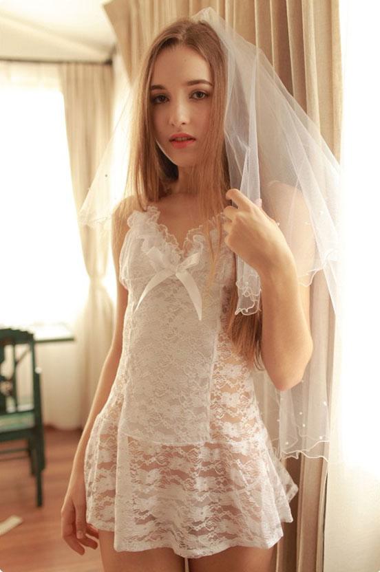 可愛い 新婚プレゼント エロ下着 セクシーランジェリー