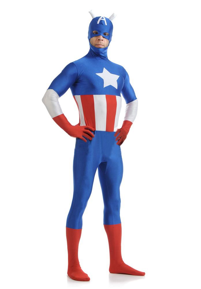 キャプテン・アメリカ コスプレ衣装