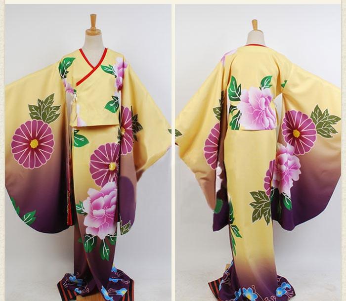 暁美ほむら(あけみ ほむら)着物プリント和服