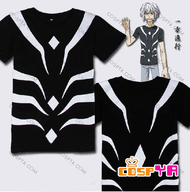 一方通行(アクセラレータ) コスプレ Tシャツ