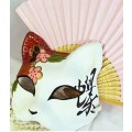 コスプレ道具小物 手作り 狐のお面 仮面 猫先生 ネコ 和風 マスク