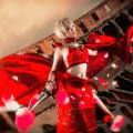 Fate/EXTRA Fate/stay night Fate/Zero Fate/Grand Order 赤セイバー Saber ローマ風 赤い コスプレ衣装