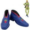 ジョジョの奇妙な冒険 コスプレ靴 パープル・ヘイズ パンナコッタ・フーゴ 靴