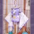 Re:ゼロから始める異世界生活 エミリア 着物 祭り着用 着物 コスプレ衣装