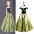 ディズニー アナと雪の女王 FROZEN  アナ コスプレ衣装 Anna ドレス コスチューム 豪華版