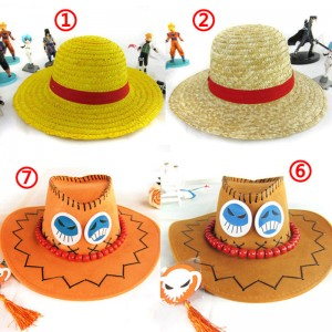 麦わら帽子 コスプレ 小道具 ワンピース 衣装用 ONE PIECE コスチューム エース ルフィ サボ