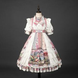 新品 甘ロリ洋装 可愛い ワンピース アリス ドレス